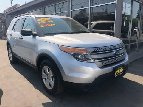 2011 Ford Explorer for sale at Devine Auto Sales in Modesto CA