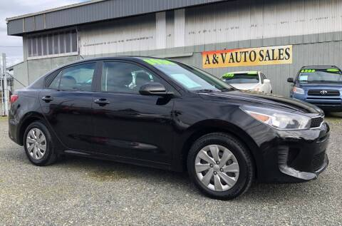 2018 Kia Rio for sale at A & V AUTO SALES LLC in Marysville WA