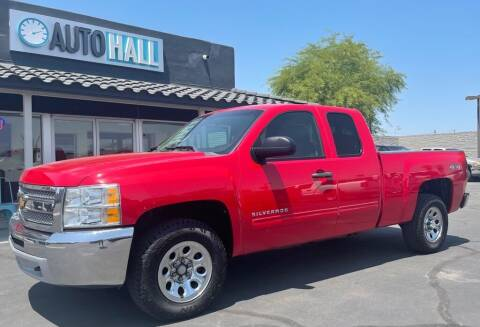 2012 Chevrolet Silverado 1500 for sale at Auto Hall in Chandler AZ