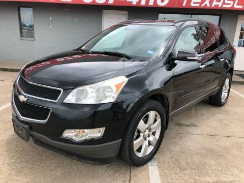 2012 Chevrolet Traverse for sale at Texas Luxury Auto in Cedar Hill TX