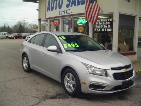 2015 Chevrolet Cruze for sale at G & L Auto Sales Inc in Roseville MI