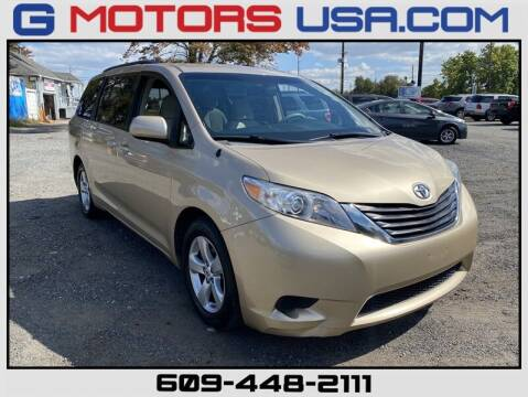2011 Toyota Sienna for sale at G Motors in Monroe NJ