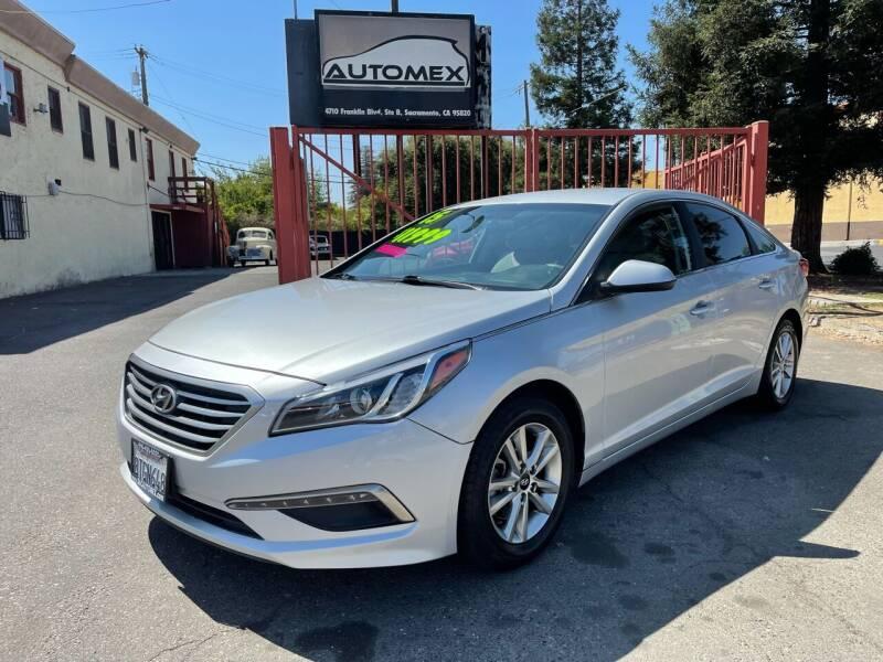 2015 Hyundai Sonata for sale at AUTOMEX in Sacramento CA