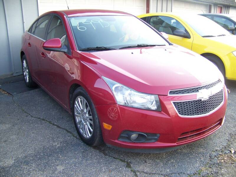 2013 Chevrolet Cruze for sale at Collector Car Co in Zanesville OH