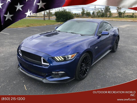 2015 Ford Mustang for sale at Outdoor Recreation World Inc. in Panama City FL