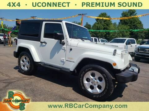 2013 Jeep Wrangler for sale at R & B CAR CO - R&B CAR COMPANY in Columbia City IN