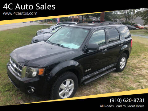 2008 Ford Escape for sale at 4C Auto Sales in Wilmington NC