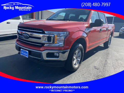 2019 Ford F-150 for sale at Rocky Mountain Motors in Idaho Falls ID