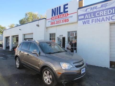 2012 Chevrolet Captiva Sport for sale at Nile Auto Sales in Denver CO
