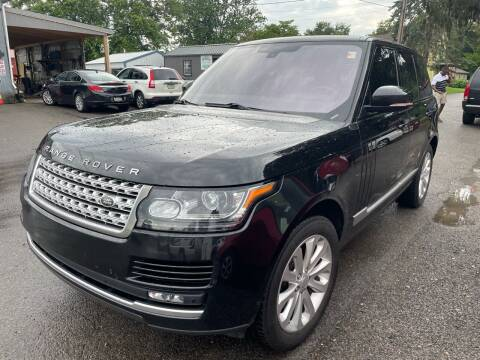 2013 Land Rover Range Rover for sale at Trocci's Auto Sales in West Pittsburg PA