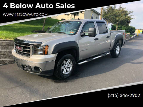 2007 GMC Sierra 1500 for sale at 4 Below Auto Sales in Willow Grove PA
