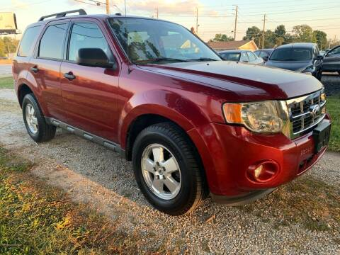 2012 Ford Escape for sale at Quality Motors Inc in Indianapolis IN