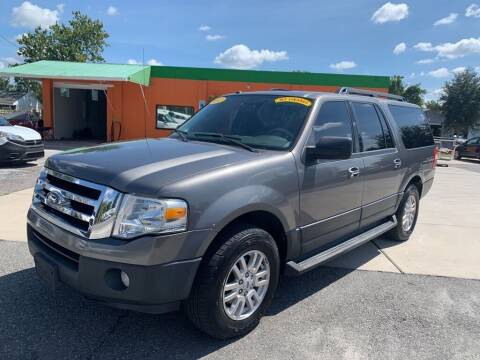 2012 Ford Expedition EL for sale at Galaxy Auto Service, Inc. in Orlando FL