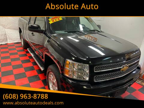 2012 Chevrolet Silverado 1500 for sale at Absolute Auto in Baraboo WI