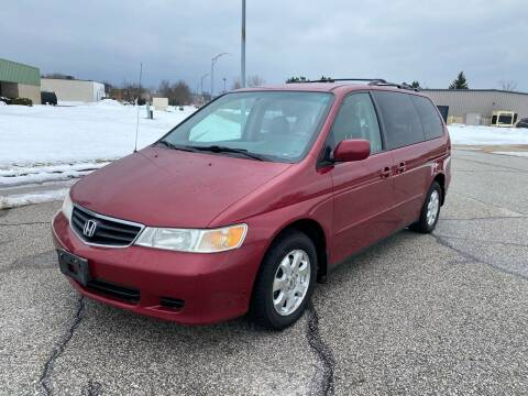 2002 Honda Odyssey for sale at JE Autoworks LLC in Willoughby OH