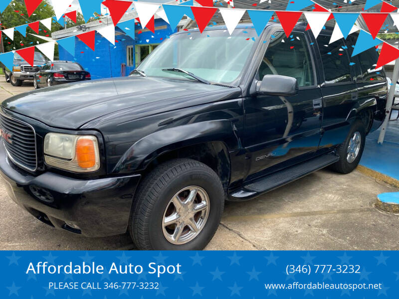 1999 GMC Yukon for sale at Affordable Auto Spot in Houston TX