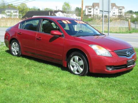 2007 Nissan Altima for sale at Saratoga Motors in Gansevoort NY