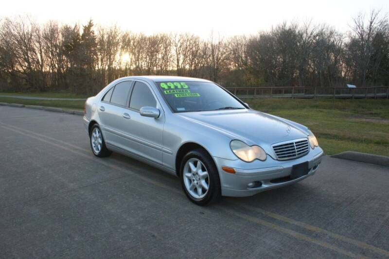 2002 Mercedes-Benz C-Class for sale at Clear Lake Auto World in League City TX