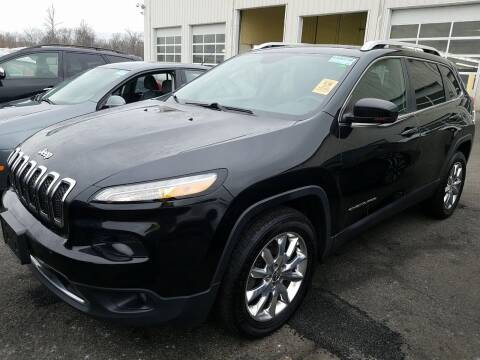 2015 Jeep Cherokee for sale at Riverside Auto Sales & Service in Portland ME