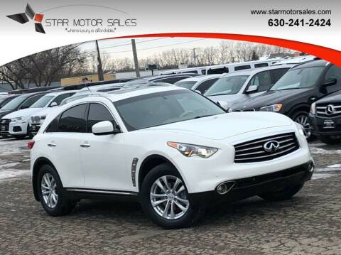 2012 Infiniti FX35 for sale at Star Motor Sales in Downers Grove IL