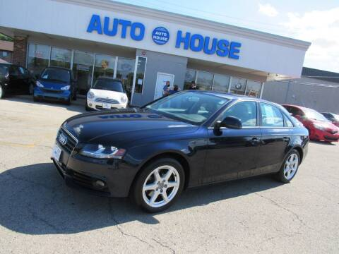 2009 Audi A4 for sale at Auto House Motors in Downers Grove IL