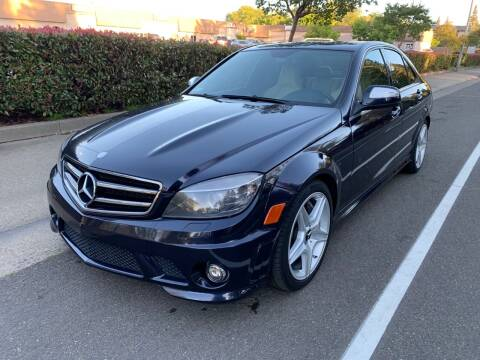 2009 Mercedes-Benz C-Class for sale at LG Auto Sales in Rancho Cordova CA