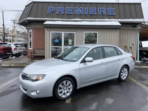 2009 Subaru Impreza for sale at Premiere Auto Sales in Washington PA