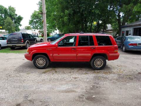 1995 Jeep Grand Cherokee for sale at D & D Auto Sales in Topeka KS