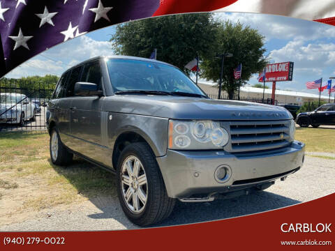 2007 Land Rover Range Rover for sale at CARBLOK in Lewisville TX
