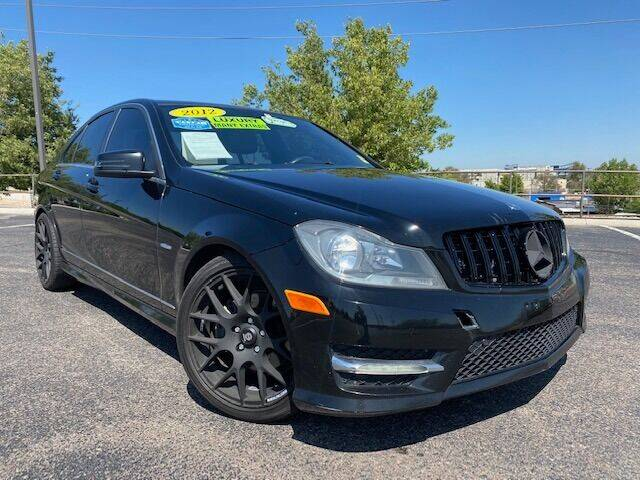 2012 Mercedes-Benz C-Class for sale at UNITED Automotive in Denver CO