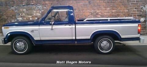 1980 Ford F-100 for sale at Matt Hagen Motors in Newport NC
