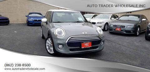 2015 MINI Hardtop 4 Door for sale at Auto Trader Wholesale Inc in Saddle Brook NJ