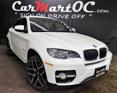 2012 BMW X6 for sale at CarMart OC in Costa Mesa, Orange County CA