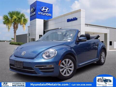 2018 Volkswagen Beetle Convertible for sale at Metairie Preowned Superstore in Metairie LA