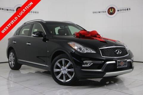 2017 Infiniti QX50 for sale at INDY'S UNLIMITED MOTORS - UNLIMITED MOTORS in Westfield IN