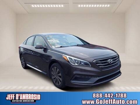 2015 Hyundai Sonata for sale at Jeff D'Ambrosio Auto Group in Downingtown PA