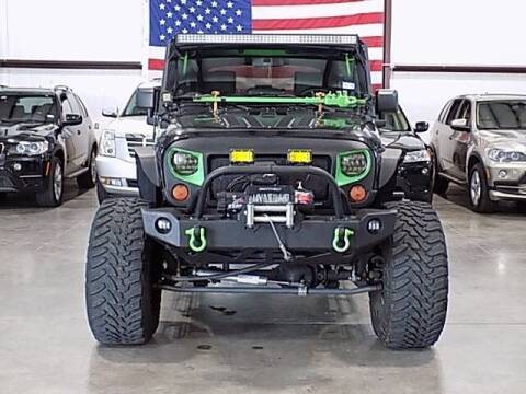 2010 Jeep Wrangler Unlimited for sale at Texas Motor Sport in Houston TX