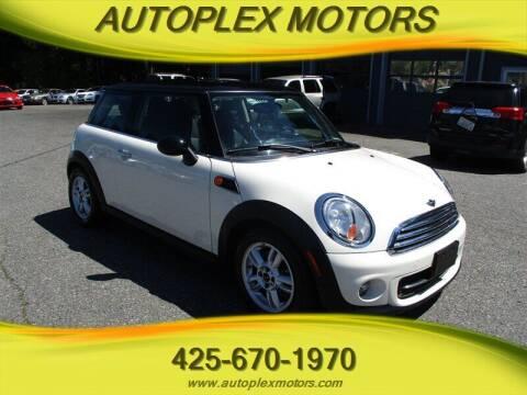 2013 MINI Hardtop for sale at Autoplex Motors in Lynnwood WA