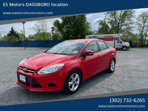 2014 Ford Focus for sale at ES Motors-DAGSBORO location in Dagsboro DE