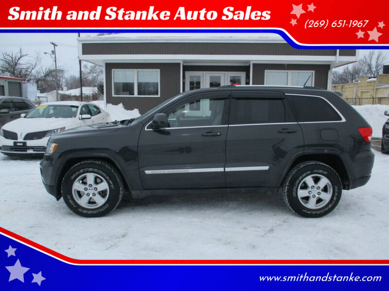 2011 Jeep Grand Cherokee for sale at Smith and Stanke Auto Sales in Sturgis MI