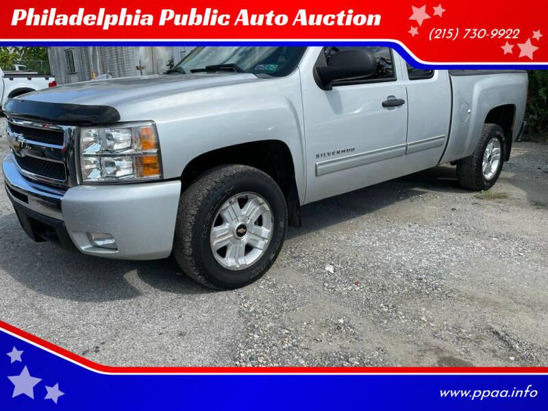 2010 Chevrolet Silverado 1500 for sale at Philadelphia Public Auto Auction in Philadelphia PA