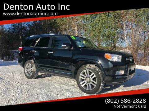 2012 Toyota 4Runner for sale at Denton Auto Inc in Craftsbury VT