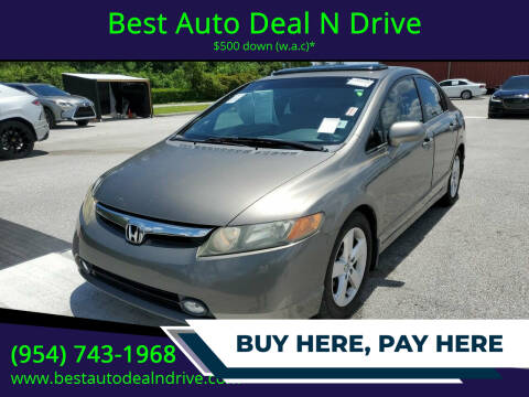 2007 Honda Civic for sale at Best Auto Deal N Drive in Hollywood FL