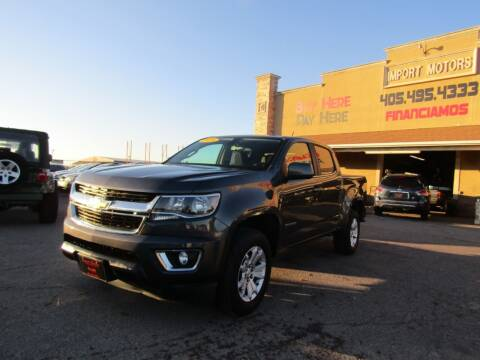 2016 Chevrolet Colorado for sale at Import Motors in Bethany OK