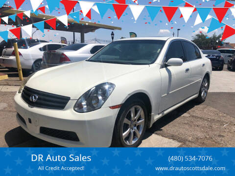 2006 Infiniti G35 for sale at DR Auto Sales in Scottsdale AZ