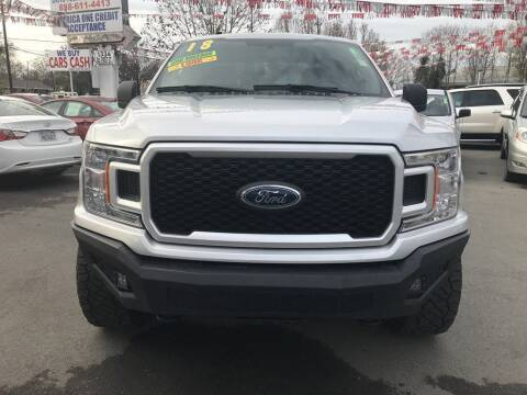 2018 Ford F-150 for sale at EXPRESS CREDIT MOTORS in San Jose CA