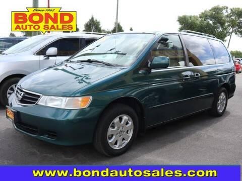 2002 Honda Odyssey for sale at Bond Auto Sales in Saint Petersburg FL