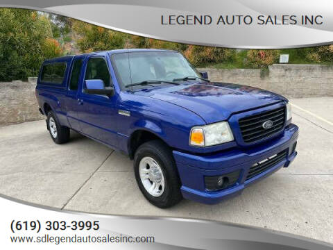 2006 Ford Ranger for sale at Legend Auto Sales Inc in Lemon Grove CA