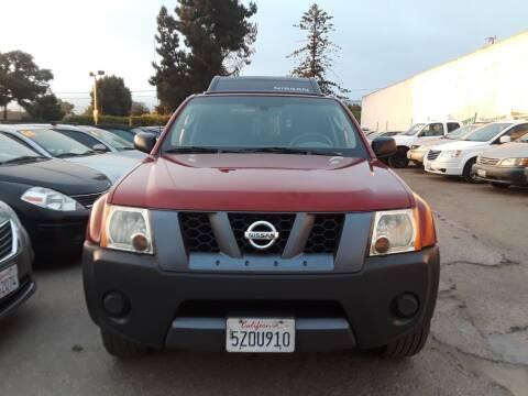 2007 Nissan Xterra for sale at Goleta Motors in Goleta CA
