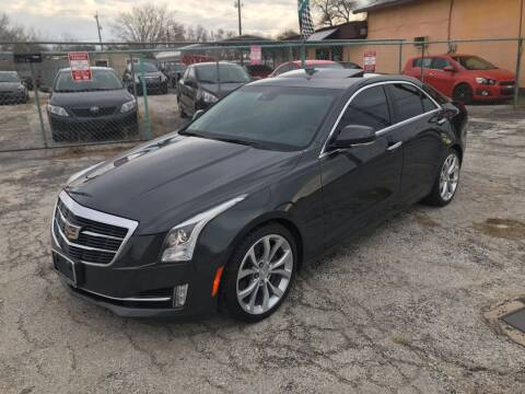 2015 Cadillac ATS for sale at Quality Auto Group in San Antonio TX